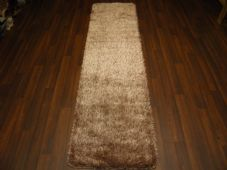 Romany Washables Runner/Mats 60x220cm Aprox 7ft Sparkle Beige/Gold Non Slip New